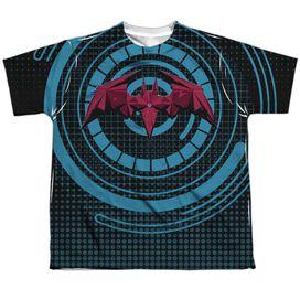 Batman Unlimited Bat Tech Short Sleeve Youth Poly Crew T-Shirt