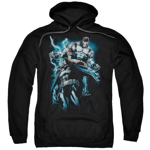 Batman Evil Rising Adult Pull Over Hoodie