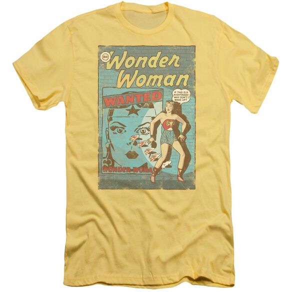 Dc Ww Wanted Short Sleeve Adult T-Shirt