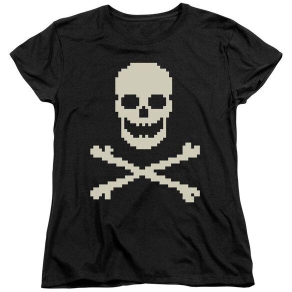 8 Bit Roger Short Sleeve Womens Tee T-Shirt