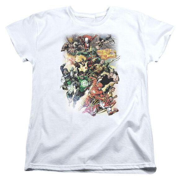 Jla Brightest Day #0 Short Sleeve Womens Tee T-Shirt