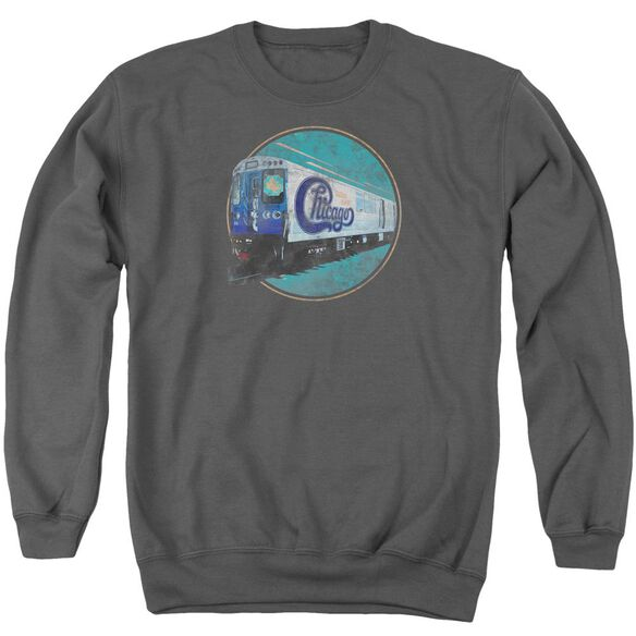 Chicago The Rail Adult Crewneck Sweatshirt