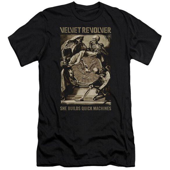 Velvet Revolver Quick Machines Premuim Canvas Adult Slim Fit