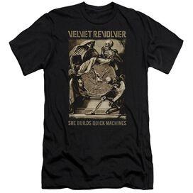 Velvet Revolver Quick Machines Short Sleeve Adult T-Shirt