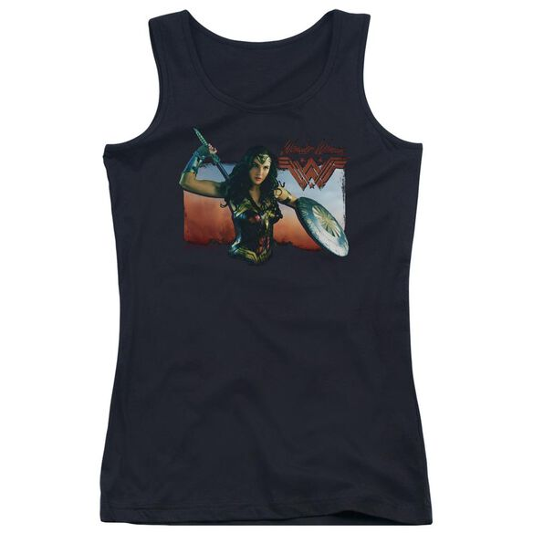 Wonder Woman Movie Warrior Woman Juniors Tank Top