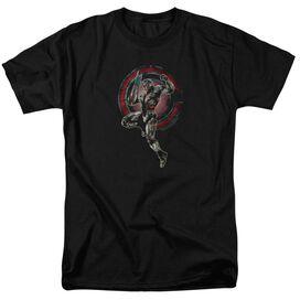 Justice League Movie Cyborg Short Sleeve Adult T-Shirt
