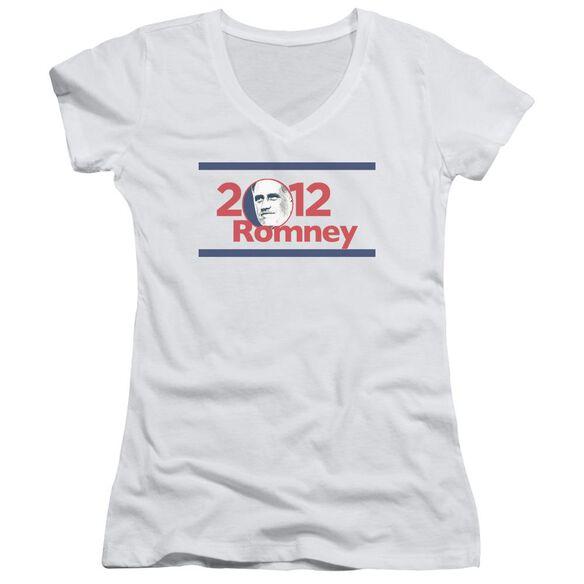 2012 Romney Junior V Neck T-Shirt