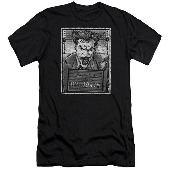Batman Joker Inmate Premuim Canvas Adult Slim Fit