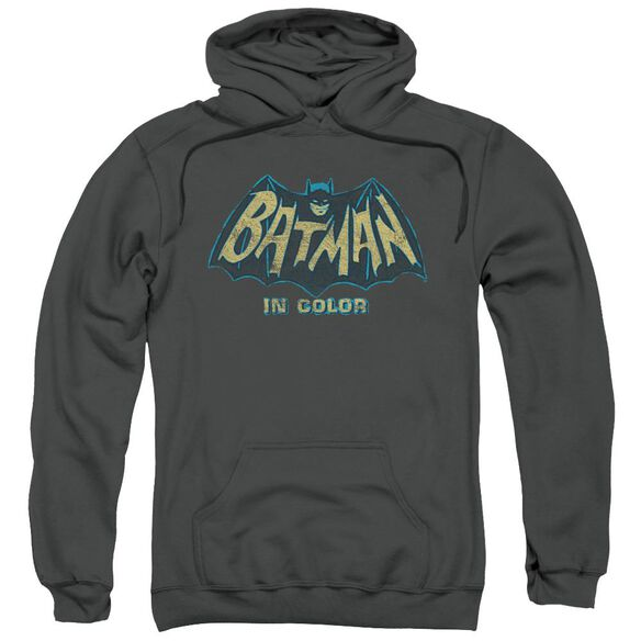 Batman Classic Tv In Color Adult Pull Over Hoodie