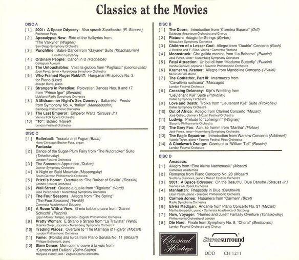 Classics At The Movie1293