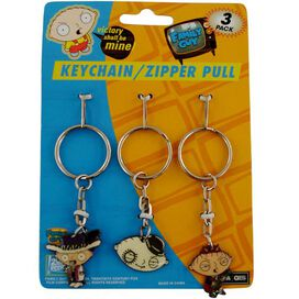 Family Guy Stewie Keychain Set