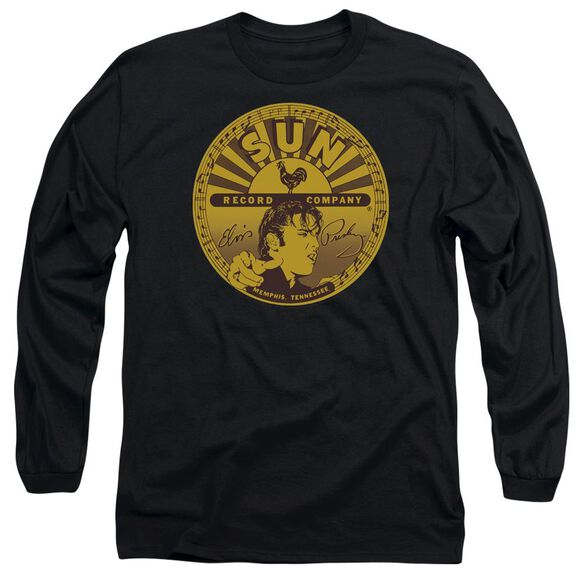 Sun Elvis Full Sun Label Long Sleeve Adult T-Shirt