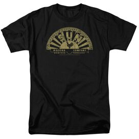 Sun Tattered Logo Short Sleeve Adult T-Shirt
