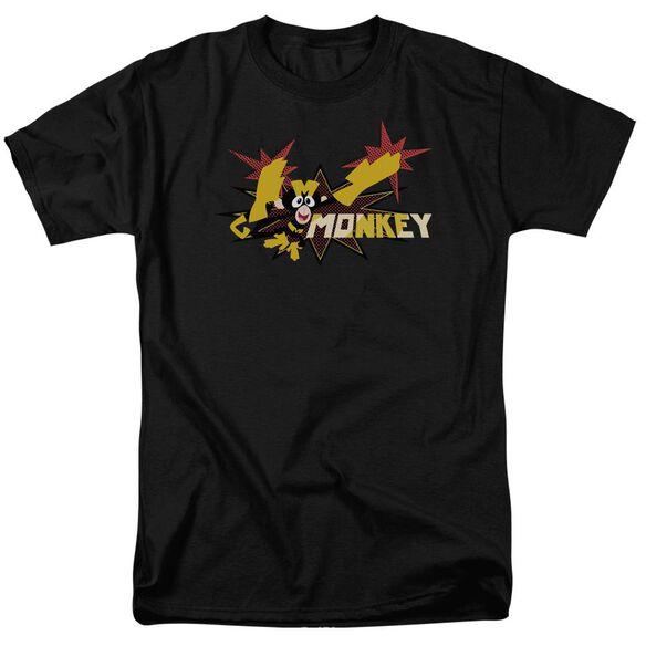 Dexters's Laboratory Monkey Short Sleeve Adult T-Shirt