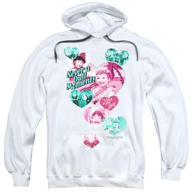 Lucy Never A Dull Moment Adult Pull Over Hoodie