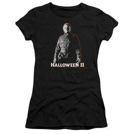 Halloween Ii Michael Myers Short Sleeve Junior Sheer T-Shirt
