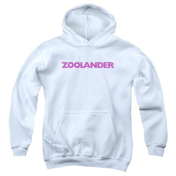 Zoolander Logo Youth Pull Over Hoodie