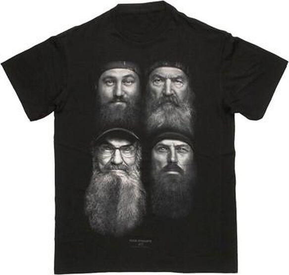 Duck Dynasty Four Beards T-Shirt