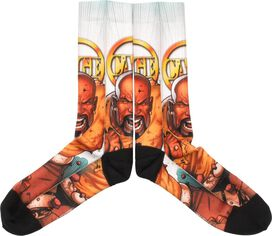Luke Cage Rage Sublimated Crew Socks