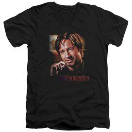 Californication Smoker Short Sleeve Adult V Neck T-Shirt