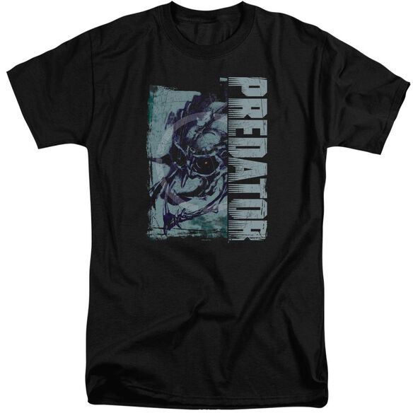 Predator Yautja Skull Short Sleeve Adult Tall T-Shirt