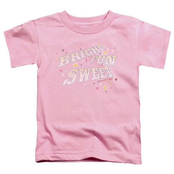 SMARTIES BRIGHT FUN SWEET - S/S TODDLER TEE - PINK - T-Shirt