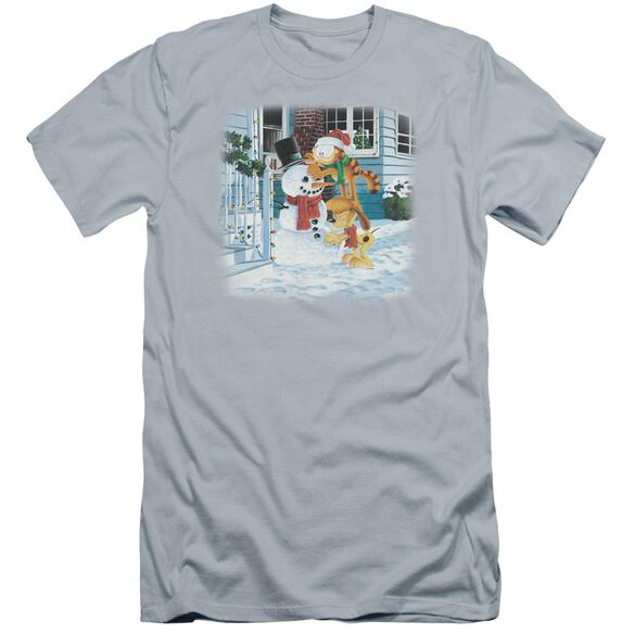 Garfield Snow Fun Premuim Canvas Adult Slim Fit Light