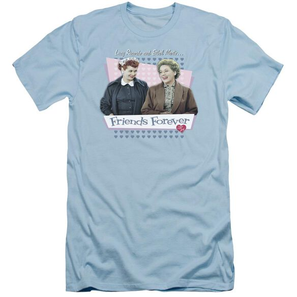I Love Lucy Friends Forever Short Sleeve Adult Light T-Shirt