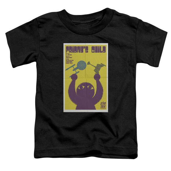 Star Trek Tos Episode 40 Short Sleeve Toddler Tee Black Sm T-Shirt