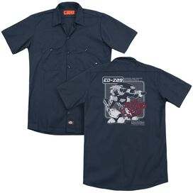 Robocop Ed 209 (Back Print) Adult Work Shirt