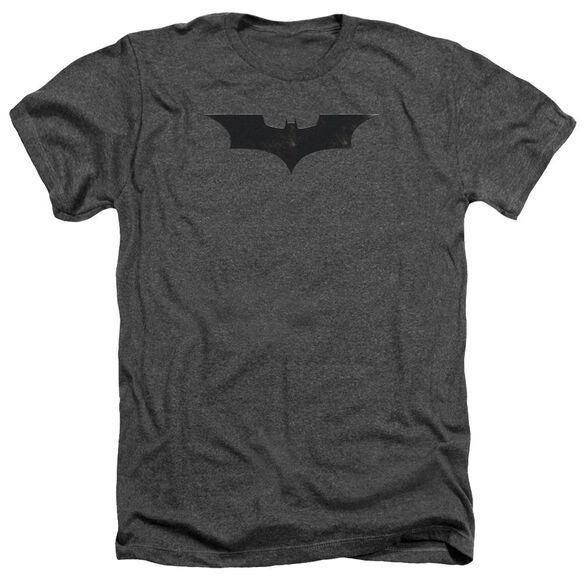 Batman Begins Logo Adult Heather