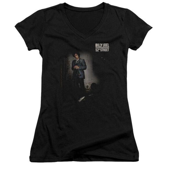 Billy Joel 52 Nd Street Junior V Neck T-Shirt
