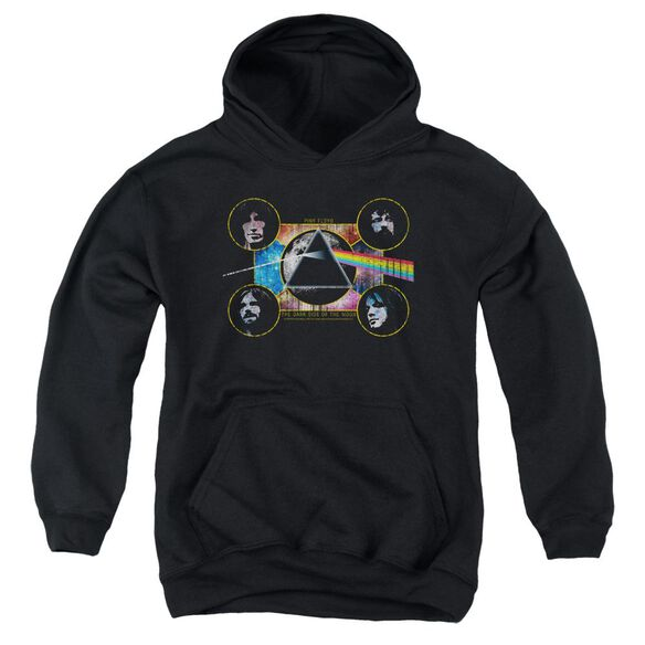 Pink Floyd Dark Side Heads Youth Pull Over Hoodie