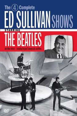 Image of The 4 Complete Ed Sullivan Shows Starring The Beatles