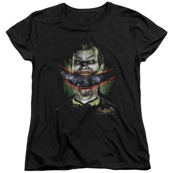 Batman Aa Crazy Lips Short Sleeve Womens Tee T-Shirt
