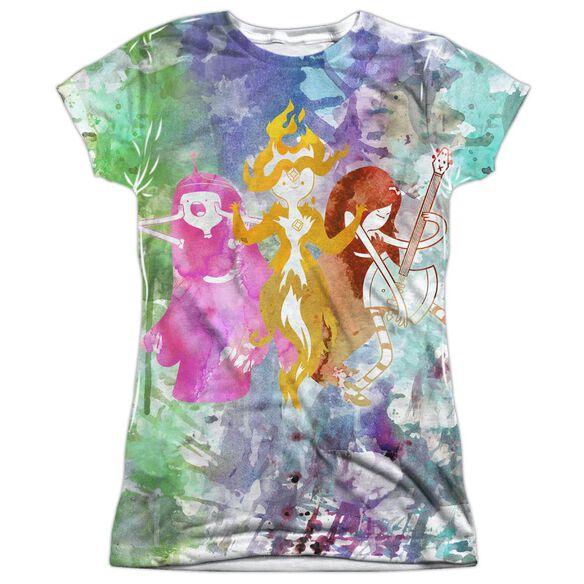 ADVENTURE TIME THREE LADIES-S/S JUNIOR T-Shirt