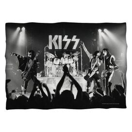 Kiss Staged Pillow Case White