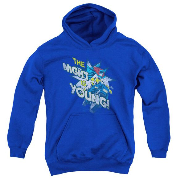 Dc The Night Is Young Youth Pull Over Hoodie