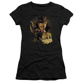 Mirrormask Queen Of Shadows Short Sleeve Junior Sheer T-Shirt