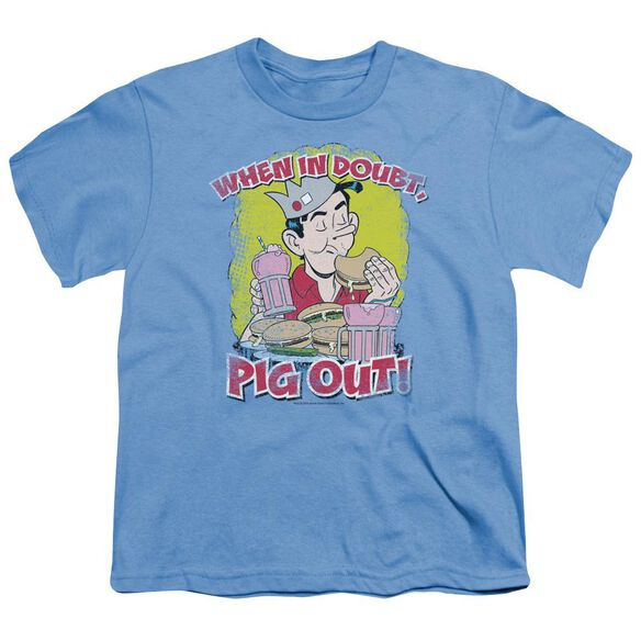 Archie Comics Pig Out Short Sleeve Youth Carolina T-Shirt