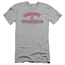 Abbott & Costello Logo Short Sleeve Adult T-Shirt