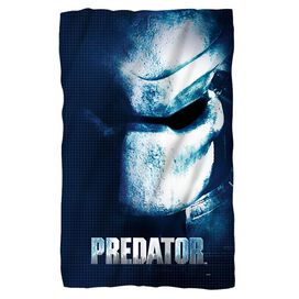 Predator Mask Fleece Blanket