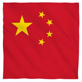 China Flag Bandana