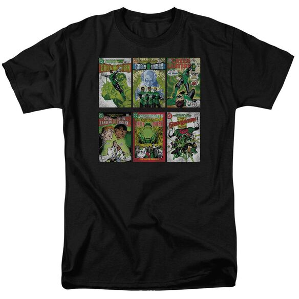 Green Lantern Gl Covers Short Sleeve Adult T-Shirt