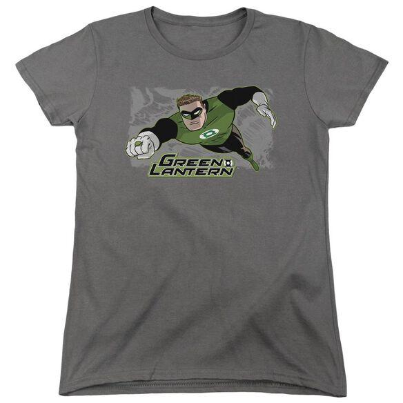 Jla Space Cop Short Sleeve Womens Tee T-Shirt