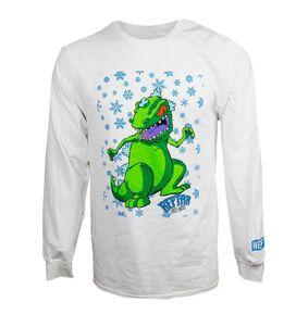 Reptar On Ice Long Sleeve T-Shirt