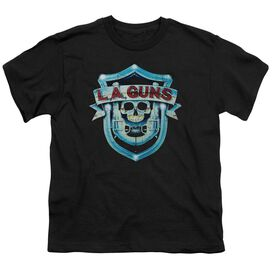 La Guns La Guns Shield Short Sleeve Youth T-Shirt