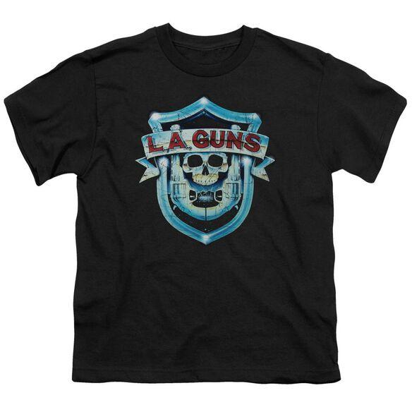 La Guns La Guns Shield Short Sleeve Youth T-Shirt