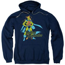 Dc Martian Manhunter Adult Pull Over Hoodie