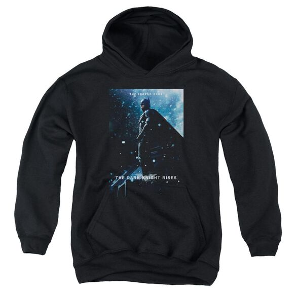 Dark Knight Rises Batman Poster Youth Pull Over Hoodie